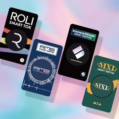 홀로그램 스마트 그립톡 MXL novation ROLI MXL RME 핑거링 스마트링