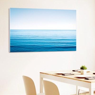 거실 인테리어 풍경 캔버스액자 푸른 바다