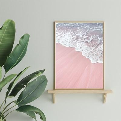 Pink beach 사진포스터