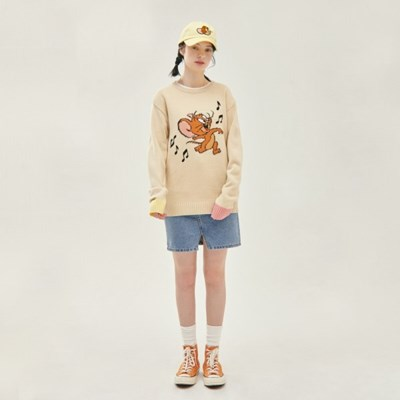 [SS20 Stereo & Jerry] Jacquard Knit(Beige)_(743965)