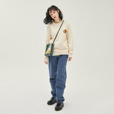 [SS20 Stereo & Jerry] Boucle Face Heathered Knit(Bei_(743966)