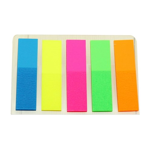 5색 인덱스 직사각메모지(25매)/학교납품용 학원