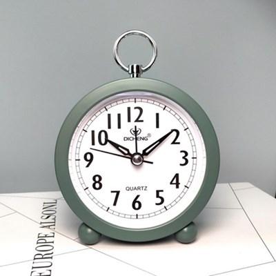 퀴리 원형 고리 알람시계 / 무소음 탁상시계