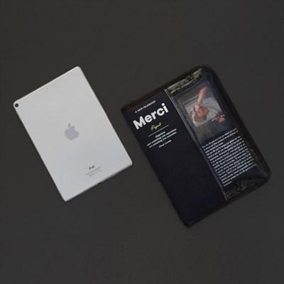 MERCI 11인치형 태블릿 파우치 - Deep blue