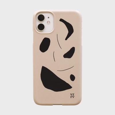 Nid Pattern Case [Beige]