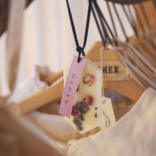 HEDER Rose Lavender Wax Tablet / 헤델 로즈 라벤더 왁스타블렛
