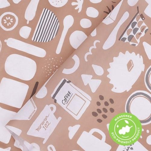 고급 친환경 포장지 선데이 브런치 (10장)