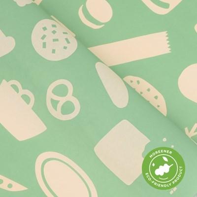 고급 친환경 포장지 오가닉 쿠키 (10장)