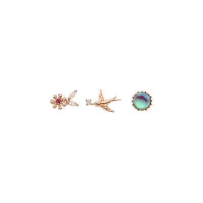 [로이드 x 디즈니 호두까기인형] 꽃의 왕국 10K 귀걸이 LPTH4134T