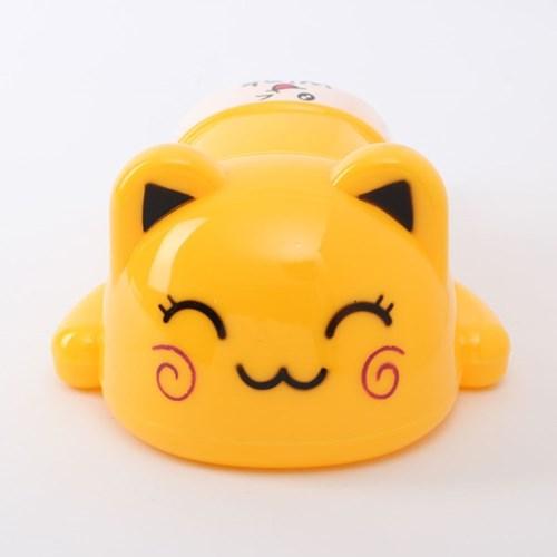 엎드린 고양이 저금통/ 용돈저축 동전저금통