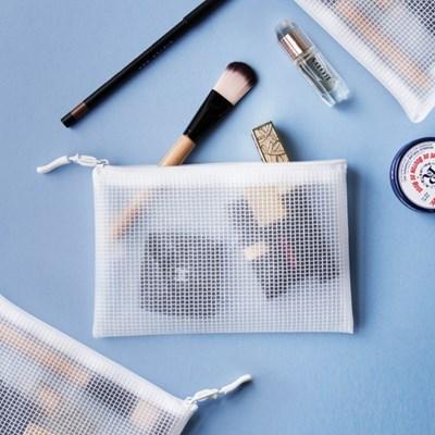 단순생활 EVA 방수 화장품 파우치 세트 화이트