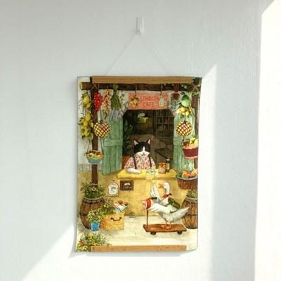 [패브릭 포스터/캔버스 액자] - 레몬씨 카페