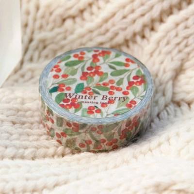 Winter Berry Masking Tape
