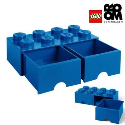 [레고스토리지] 레고 서랍형정리함 8구 (블루)