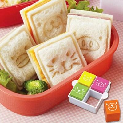 동물 모양 식빵틀 샌드위치틀 사각 모양틀