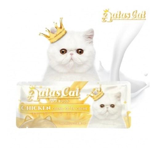 아타스캣 간식 치킨 크리미 16g 1개/고양이츄르,고양이퓨레