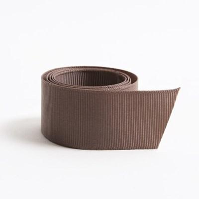 코코브라운 골직리본(25mm)