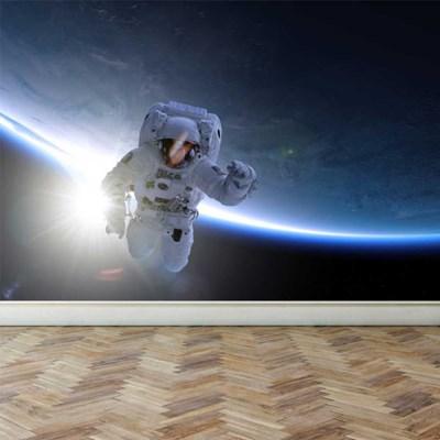 뮤럴아트 뮤럴벽지 아트월벽지 우주비행사