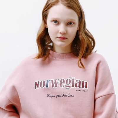 CAT SERIES SWEATSHIRT SOFTPINK_(1332186)