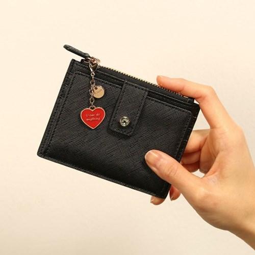 [하트키링+카드지갑세트]Shine on you card wallet(3종 택1)