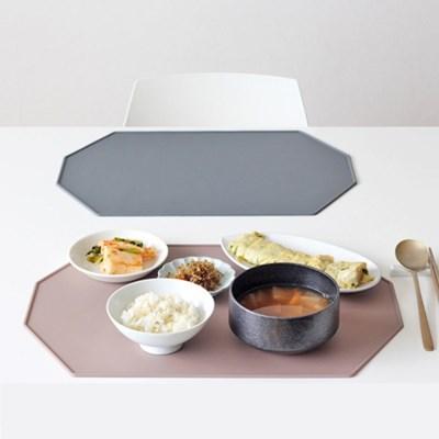 실리콘 헥사곤 테이블 식탁매트 2color
