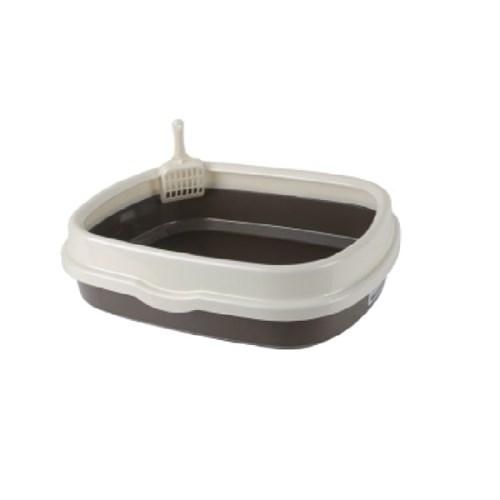 산시아 블루파우 가든 브라운 평판 화장실/고양이 화장실