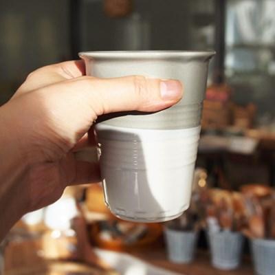 도자기 심플맥주잔 (물컵)
