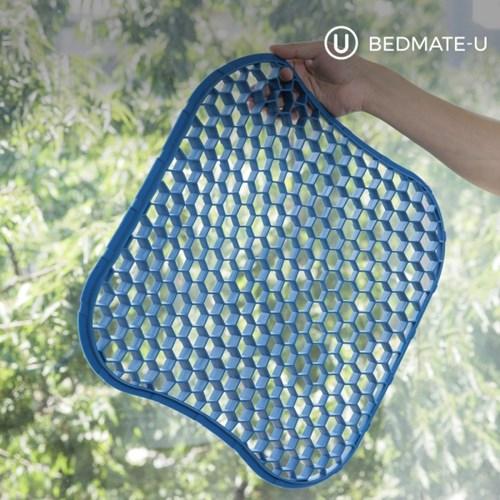 베드메이트유 바람방석(사무실의자 자동차 방석)