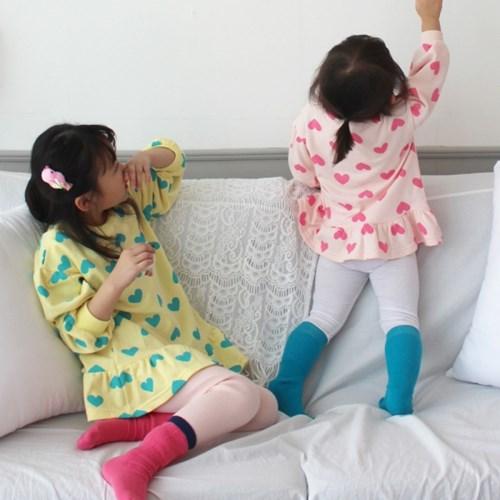 [마미버드] 봄향기하트티(핑크)
