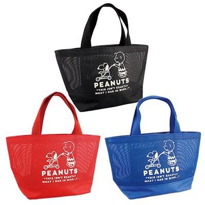 [PEANUTS] MESH BAG