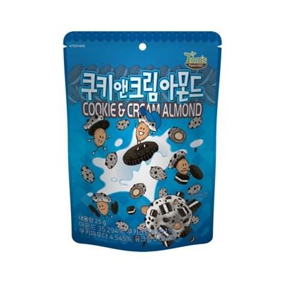 쿠키앤크림 아몬드 25g
