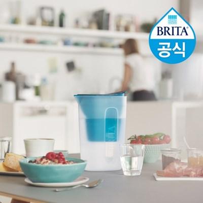 브리타 필터형 정수기 펀 1.5L 블루 +필터 1개월분 (기본구성)