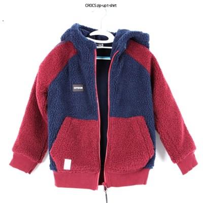 크록스 아동 양털자켓/후드집업_(1266904)