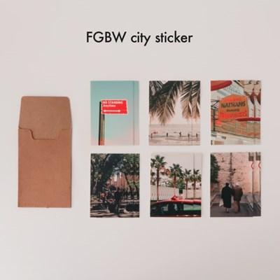 FGBW city sticker ver.01