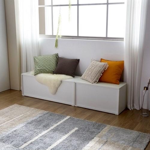 [크렌시아] 하이팡  벤치 수납형 의자 1200