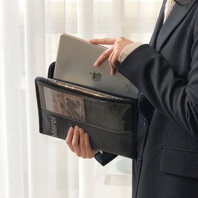 [텐바이텐 단독] MERCI 11인치형 태블릿 파우치 - Grey