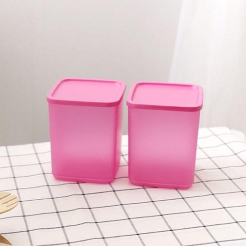 타파웨어 싱싱블록 1.8L 2P 밀폐 보관 냉장기용기