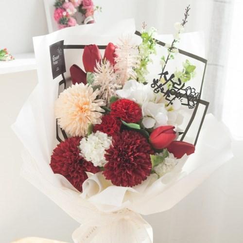 블러썸 카네이션 꽃다발 63cm P 조화 어버이날 스승의날 선물 감사