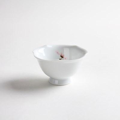 백자 연꽃 찻잔 L 녹차잔 다기잔