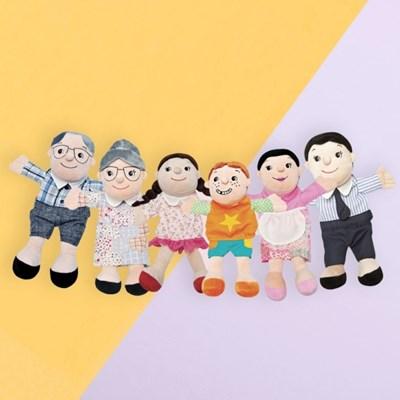 가족 손인형 6종세트 구연동화 교구 BEST