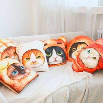쿠션 - 빵고양이 시리즈