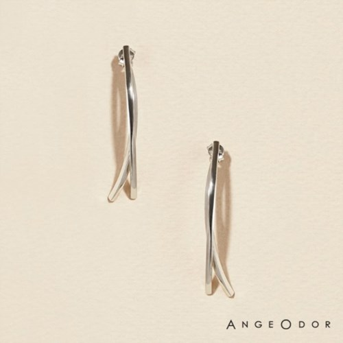 [BTS지민착용] [ANGEODOR] 앙쥬오도르 SILVER STICK DROP EARRING