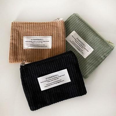 winter mini pouch