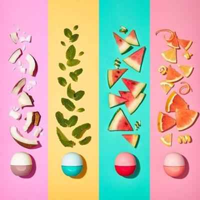 eos 립밤 Natural & Organic 7종