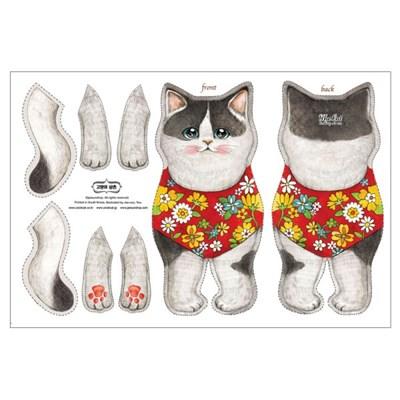 인형만들기 DIY커트지 - 나를 바라보는 고양이 No.1