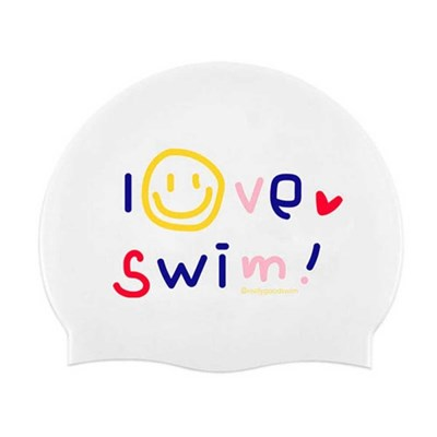 아이러브스윔 실리콘수영모자