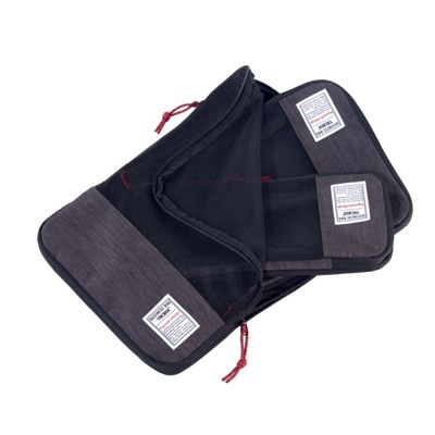 [TROIKA] BUSINESS PACKING CUBES 여행 압축팩 세트 (BBG56/GY)