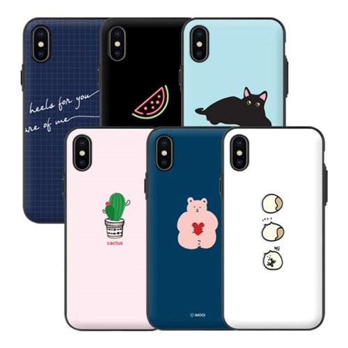 아이폰X 아이무이 디자인 도어범퍼케이스S4