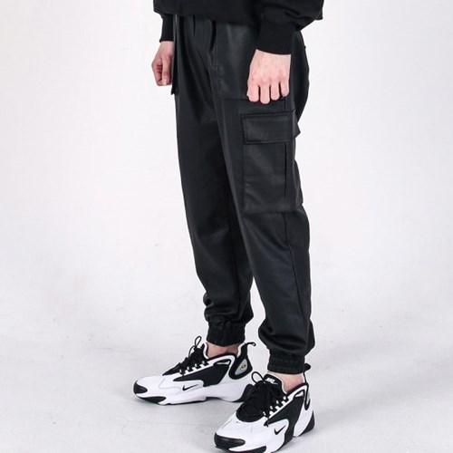 (UNISEX)M Carbon cargo-jogger pants(BLACK)