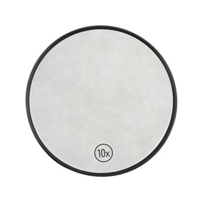 블랙색상 10배 확대 원형 손거울 접착형 1+1